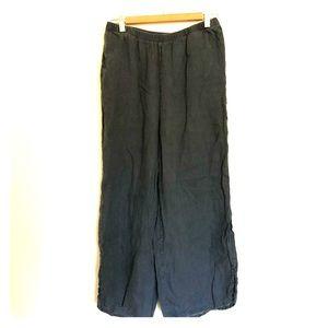 Wide leg pants large
